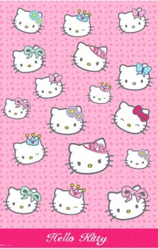Hello Kitty - Plastic Tablecover - NEW