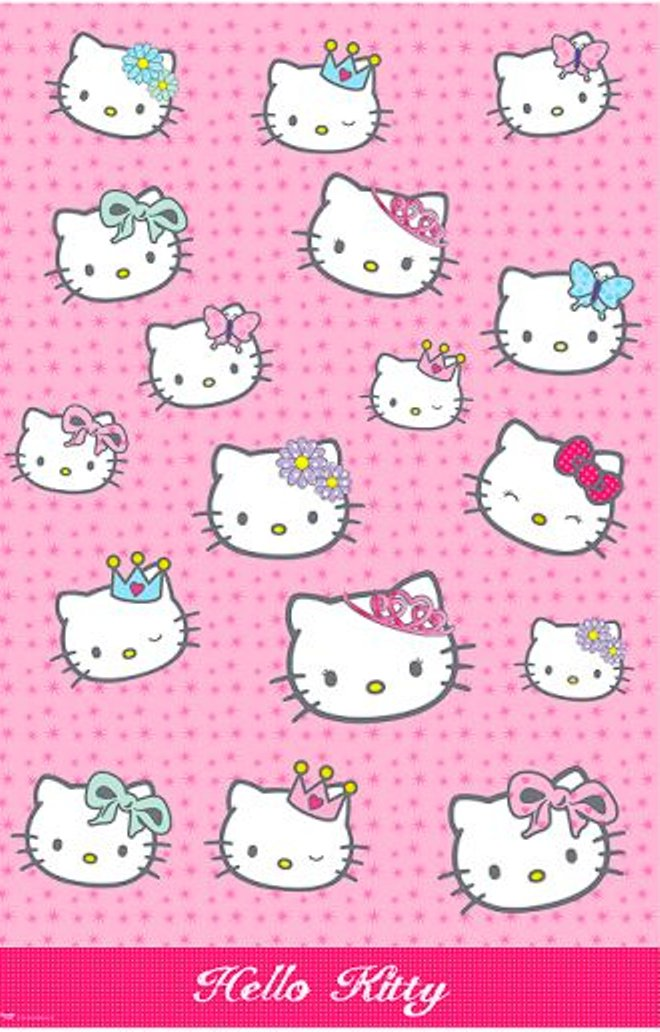 - Hello Kitty - Plastic Tablecover - NEW