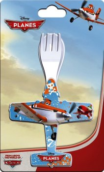Planes - Cutlery Set - Disney - NEW