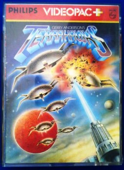 Terrahawks Video Game - Philips Videopac+ - RARE
