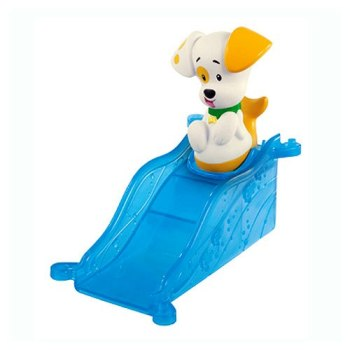 Bubble Guppies - Bubble Puppy Figure With Ramp - Fisher Price - 2013 - NEW