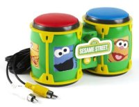 Sesame Street Plug & Play - Includes 5 Games - Jakks Pacific - 2006