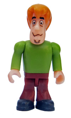 Scooby Doo - Shaggy Minifigure - Character Building - 2013
