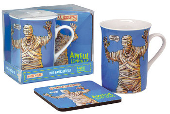 Horrible Histories - Cup / Mug & Coaster Set - Awful Egyptians - NEW
