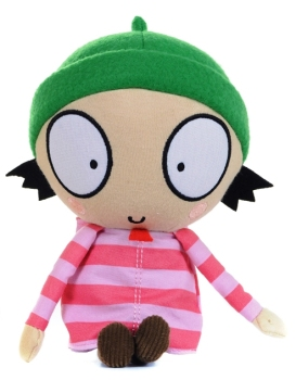 Sarah And Duck - Talking Sarah Plush Soft Toy - Posh Paws - 2014 - NEW