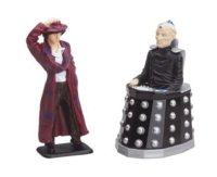 Doctor Who - The Fourth Doctor And Davros Figures - Corgi - NEW