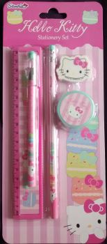 Hello Kitty - Stationery Set - 2014 - NEW