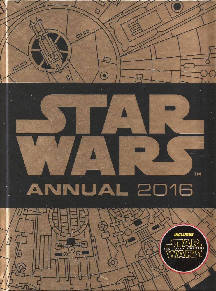 - Star Wars Annual 2016 (Includes The Force Awakens) - NEW
