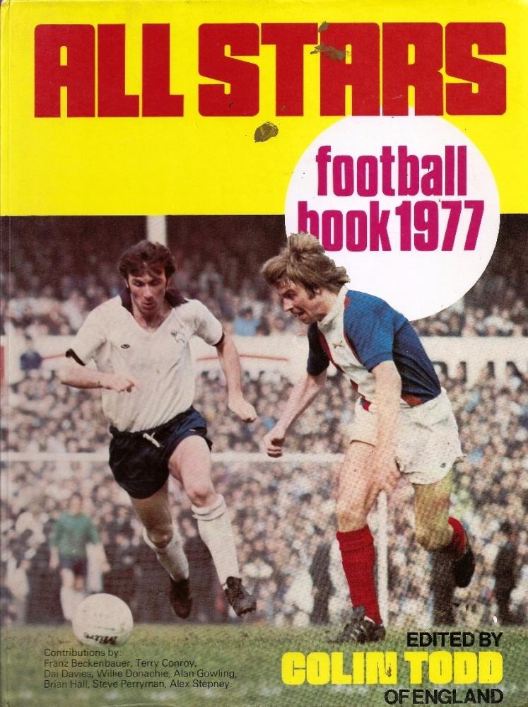 All Stars Football Book Annual - 1977