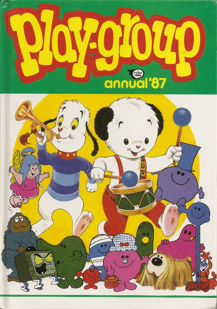 Play Group Annual - Sooty - Mr Men - Willow The Wisp - Magic Roundabout - 1