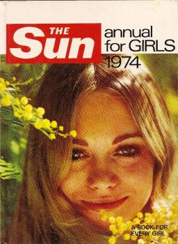 The Sun Annual For Girls - 1974