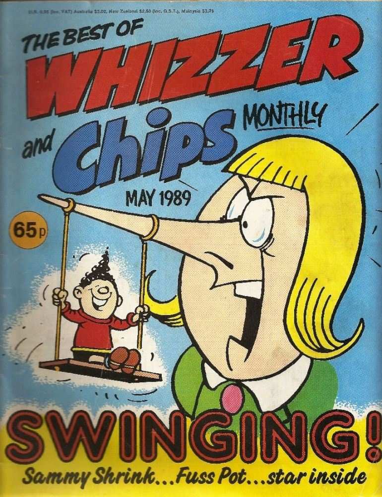 The Best Of Whizzer And Chips Monthly - May 1989