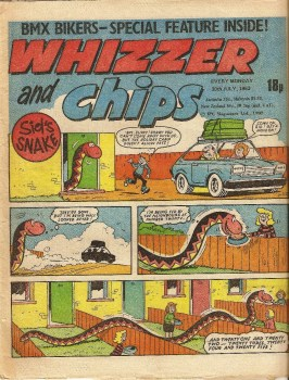 Whizzer And Chips - 30th July 1983