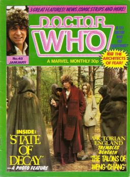 Doctor Who - A Marvel Monthly Magazine - Issue 48 - January 1981
