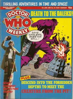 Doctor Who Weekly - Issue 34 - 5th June 1980