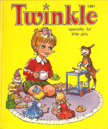 Twinkle Annual - Specially For Little Girls - D.C. Thomson - 1981