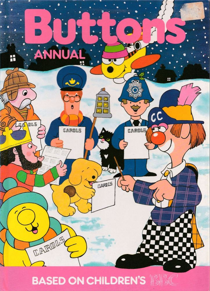 Buttons Annual - Based On Children's BBC - 1990