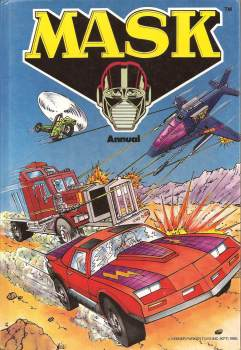 MASK Annual - Grandreams - 1986