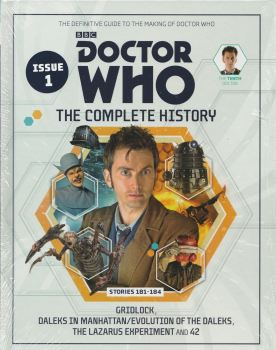 Doctor Who - The Complete History - Issue 1 - Hardback - David Tennant - NEW