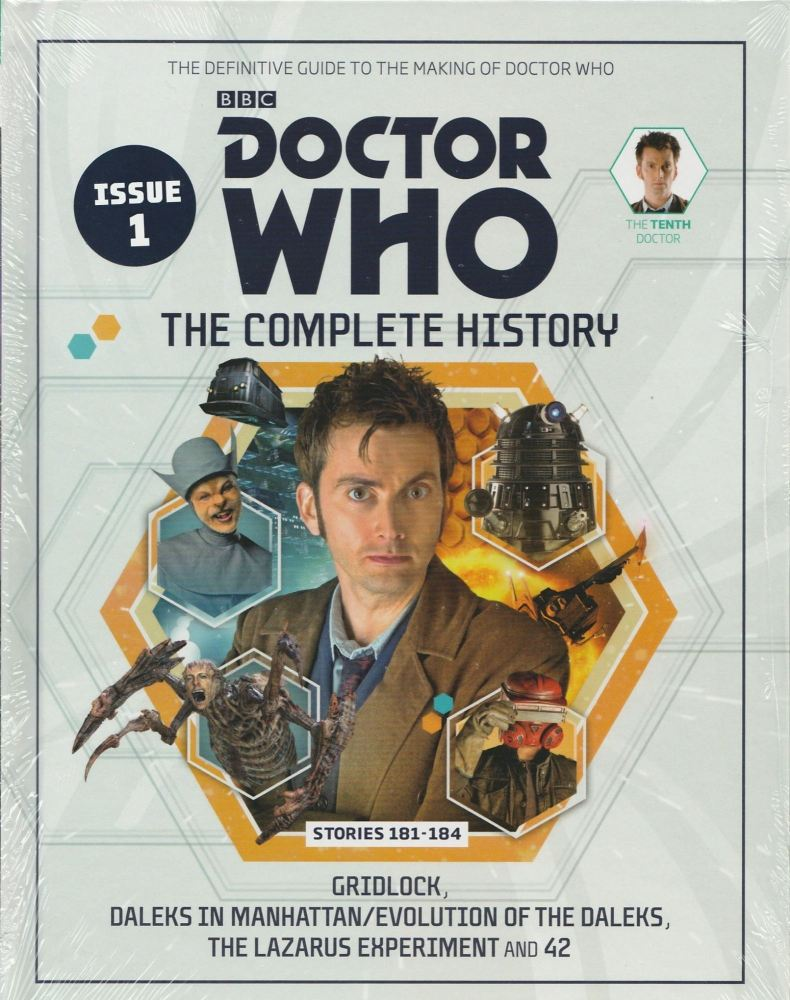Doctor Who - The Complete History - Issue 1 - Hardback - David Tennant - NE