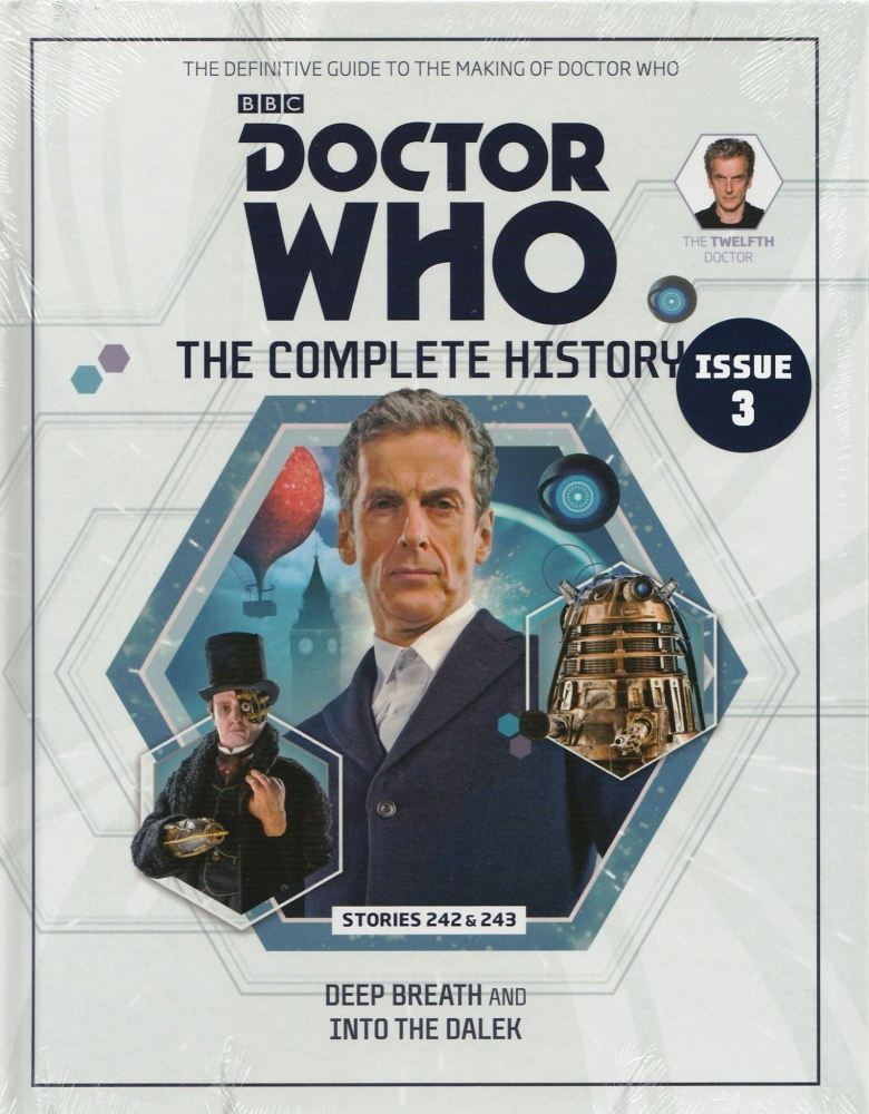 Doctor Who - The Complete History - Issue 3 - Hardback - Peter Capaldi - NE