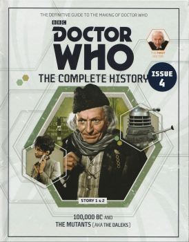 Doctor Who - The Complete History - Issue 4 - Hardback - William Hartnell - NEW