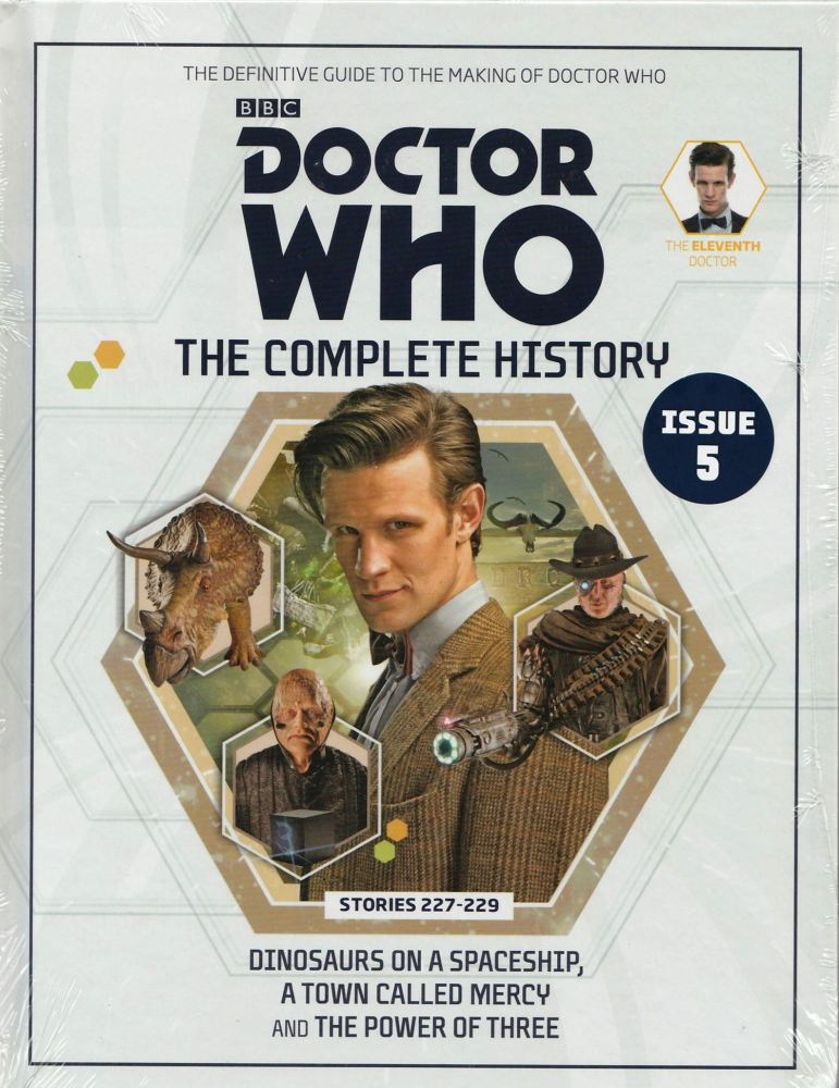 Doctor Who - The Complete History - Issue 5 - Hardback - Matt Smith - NEW