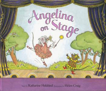 Angelina Ballerina : Angelina On Stage - Hardback - 2001