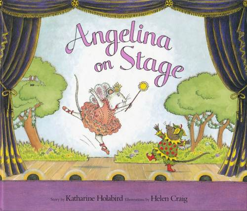 Angelina Ballerina - Angelina On Stage - Hardback - 2001