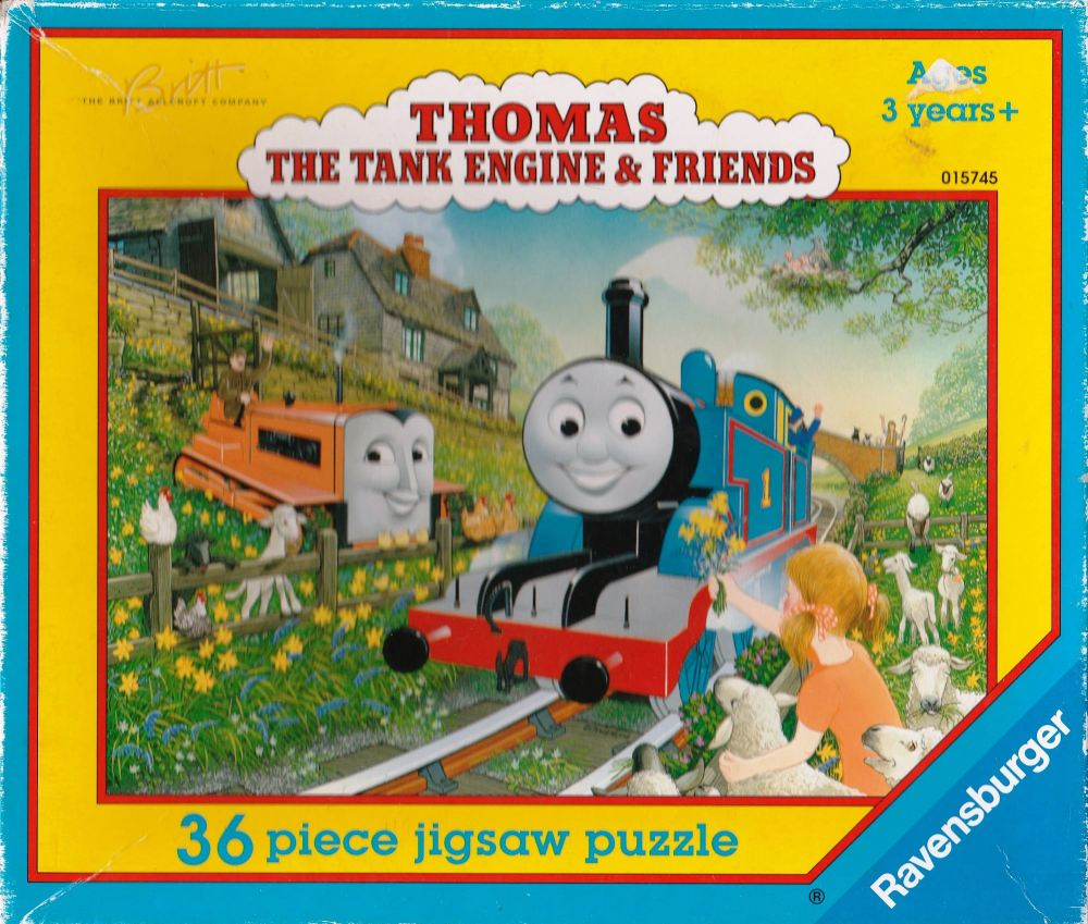 Thomas The Tank Engine Jigsaw Puzzle 36 Pieces