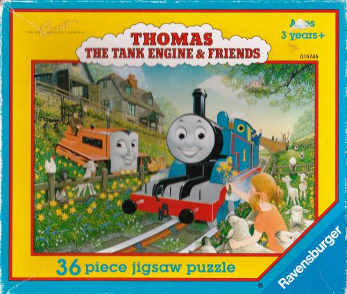 Thomas The Tank Engine Jigsaw Puzzle - 36 Pieces - Ravensburger - 1997