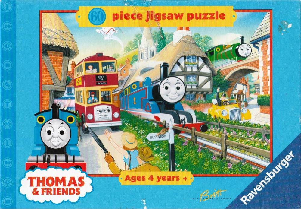Thomas The Tank Engine Jigsaw Puzzle - 60 Pieces - Ravensburger - 2000