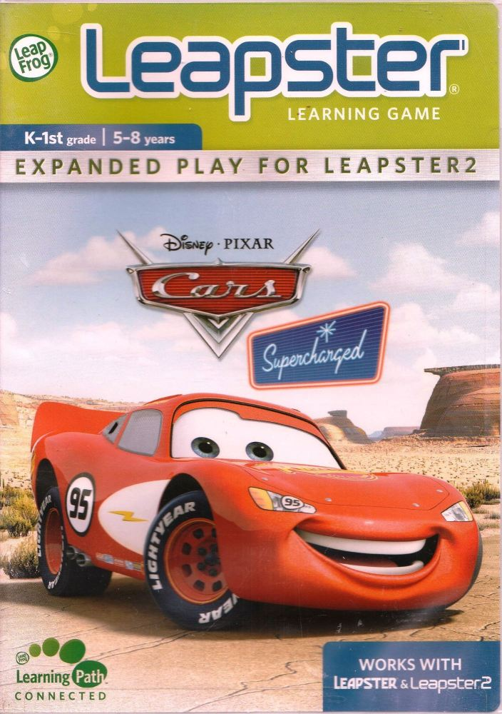 Cars : Supercharged - Leap Frog Leapster - 5-8 Years - NEW