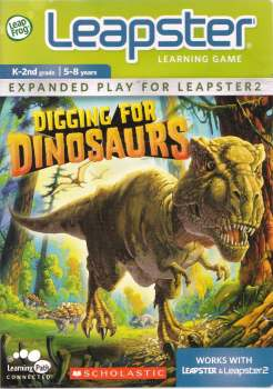 Digging For Dinosaurs - Leap Frog Leapster - 5-8 Years - NEW