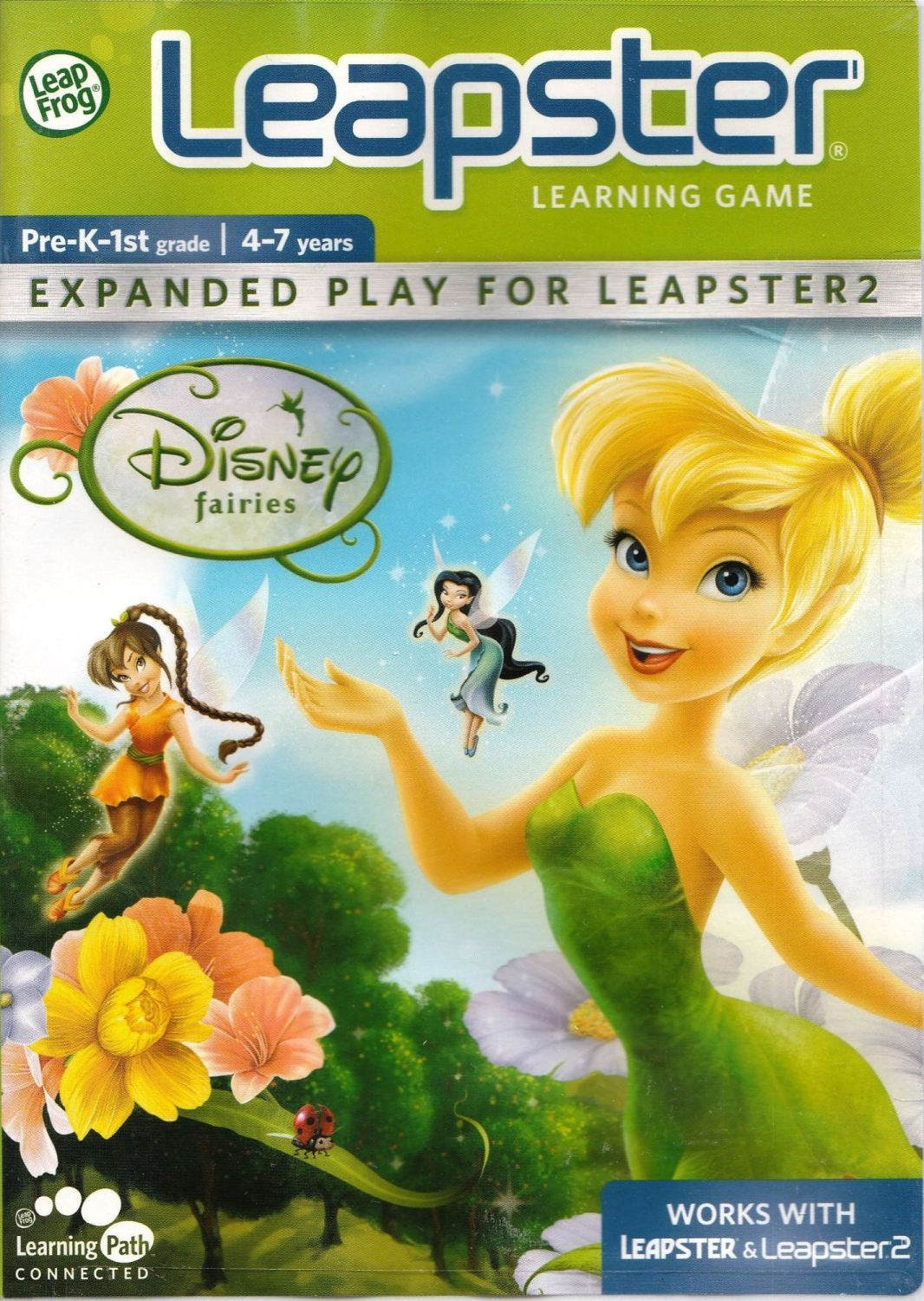 Disney Fairies - Leap Frog Leapster - 4-7 Years - NEW