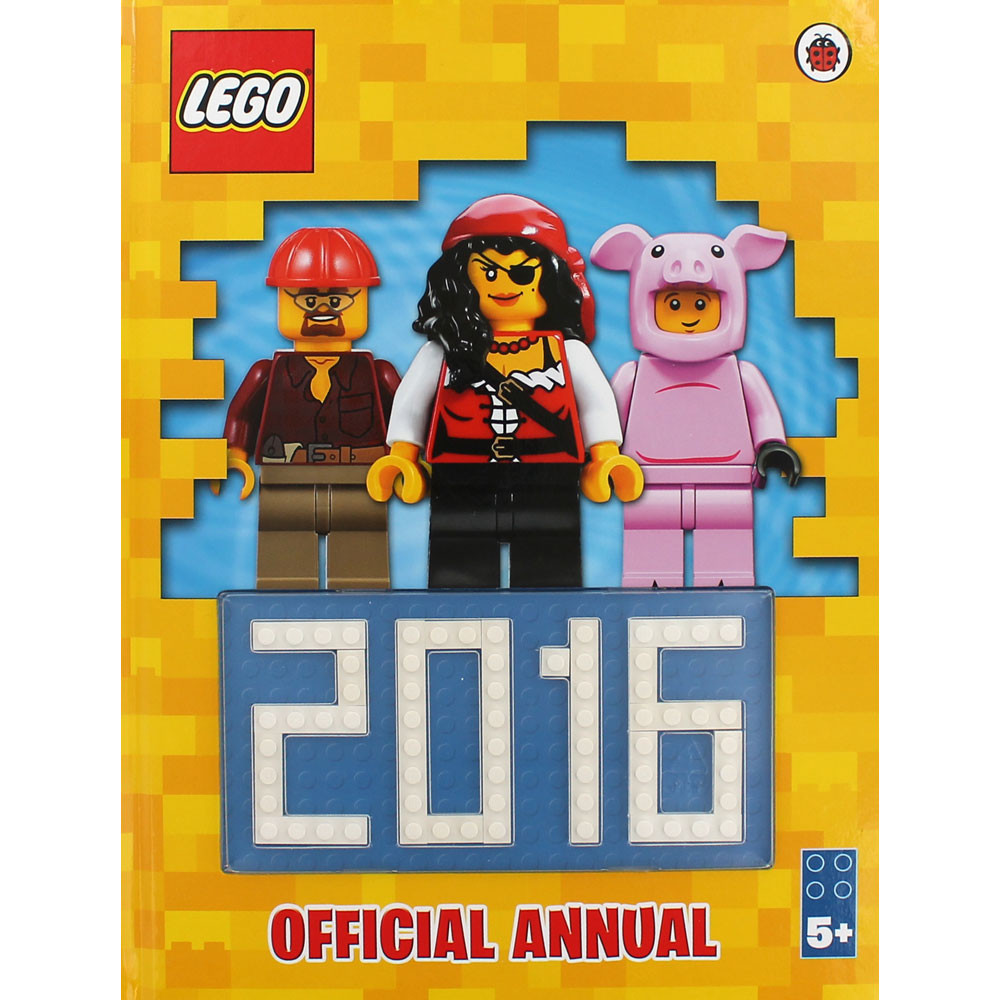 Lego Official Annual - 2016 - NEW