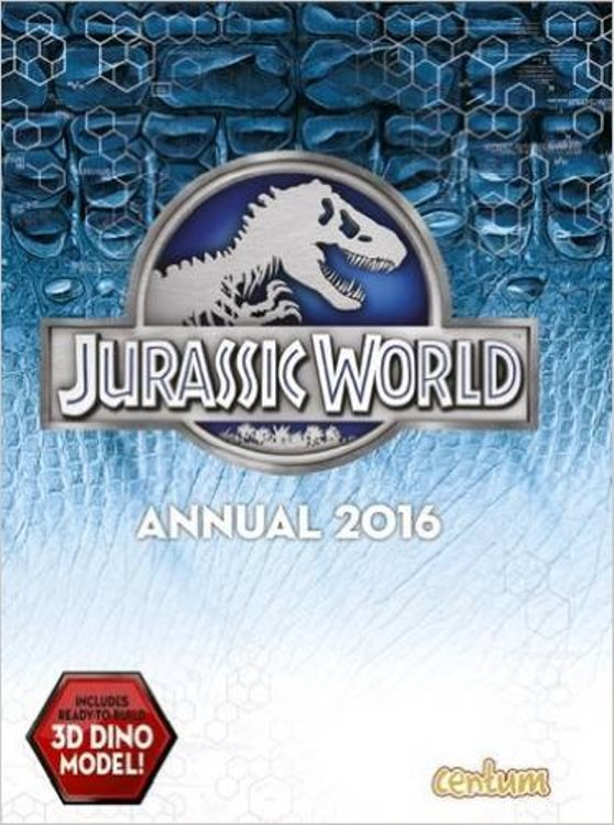 Jurassic World Annual - 2016 - NEW