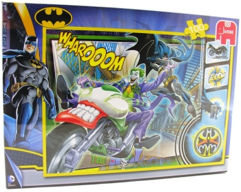 Batman Jigsaw Puzzle - 100 Pieces - Jumbo - NEW