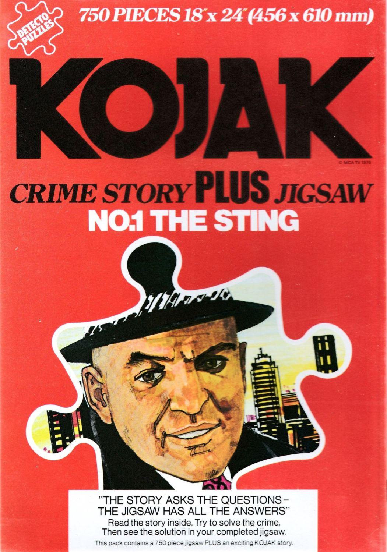Kojak : The Sting - Crime Story Plus Jigsaw Puzzle - 750 Pieces - 1976 - NE