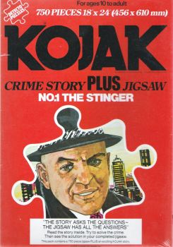 Kojak : The Stinger - Crime Story Plus Jigsaw Puzzle - 750 Pieces - 1976 - NEW