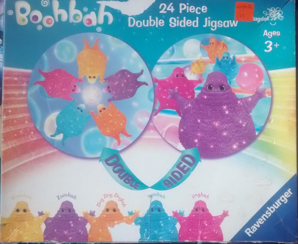 Boohbah Round Jigsaw Puzzle - Double Sided - 24 Pieces - Cbeebies - Ravensb