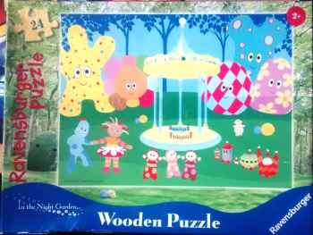 In The Night Garden Wooden Jigsaw Puzzle - 24 Pieces - Cbeebies - Ravensburger - 2007