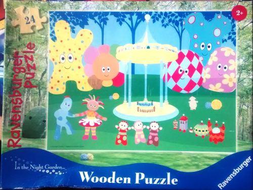 In The Night Garden Wooden Jigsaw Puzzle - 24 Pieces - Cbeebies - Ravensbur