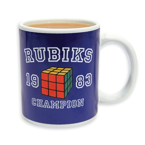 Rubik's Cube Champion Cup / Mug - NEW