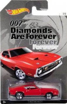 James Bond - Diamonds Are Forever Car - '71 Mustang Mach 1 - Hot Wheels - NEW