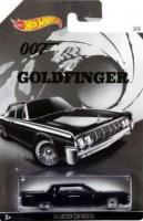 James Bond - Goldfinger Car - '64 Lincoln Continental - Hot Wheels - NEW