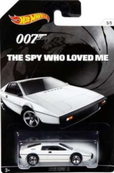 James Bond - The Spy Who Loved Me Car - Lotus Esprit - Hot Wheels - NEW