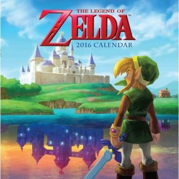 The Legend Of Zelda - Calendar 2016 - Nintendo - NEW