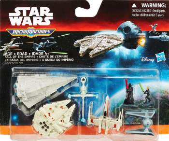 Star Wars : Return Of The Jedi - Micro Machines - Fall Of The Empire - NEW
