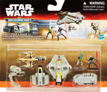 Star Wars : Rebels - Micro Machines - Rebellion Rising - NEW